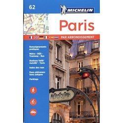 62. Párizs atlasz Michelin 2016