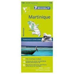 138. Martinique térkép  Michelin  1:80 000 2016