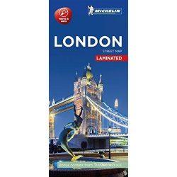 London térkép Michelin Street Map Laminated