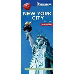 New York térkép Michelin Street Map Laminated