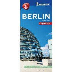 Berlin térkép Michelin Street Map Laminated