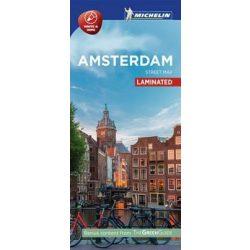 Amszterdam térkép Michelin Street Map Laminated