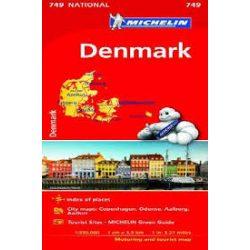 749. Dánia térkép Michelin 1:330 000