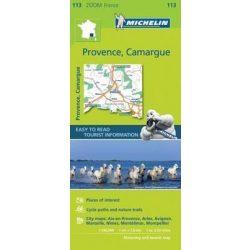 113. Provence térkép Michelin, Provence, Camargue térkép Michelin  1:160 000 Provence térkép 2017