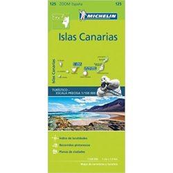 125. Kanári szigetek térkép Michelin 1:150 000