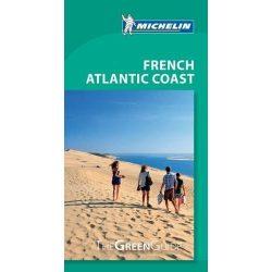 French Atlantic Coast útikönyv Michelin travel guide