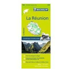 139. Réunion térkép 1:80 000  Michelin 2016