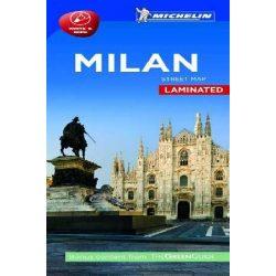 Milánó térkép Michelin laminált
