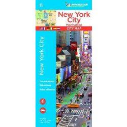 19011. New York térkép 1:11 000  Manhattan térkép