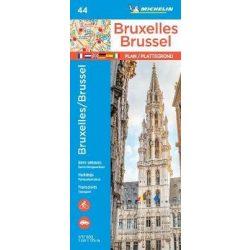 44. Brüsszel térkép Michelin 1:17 500