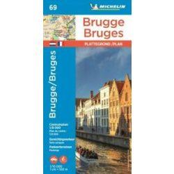 69. Brugge térkép Michelin Brügge