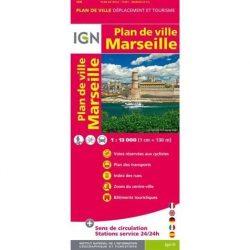 Marseilles és környéke térkép IGN 1:13 000