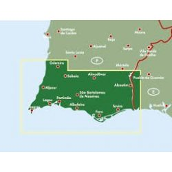 Algarve, Top 10 tipp, 1:150 000 Freytag térkép AK 9801