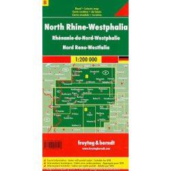 Németország 08 Észak-Rajna–Vesztfália, 1:200 000  Freytag térkép AK 0212