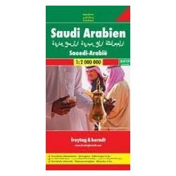 Szaúd-Arábia, 1:2 000 000  Freytag térkép AK 106