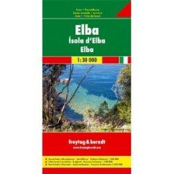 Elba - DNY-Toszkána, 1:30 000-1:150 000  Freytag térkép AK 0605