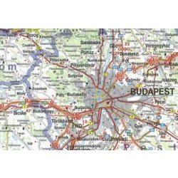 Magyarország térkép Freytag  1:400 000 keményfedeles