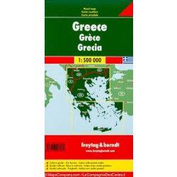 Görögország térkép keményborítóban, 1:500 000  Freytag AK 0825