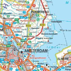 Hollandia falitérkép Freytag
