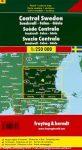 Svédország 4 Közép - Sundsvall-Falun-Gävle, 1:250 000  Freytag térkép AK 06610