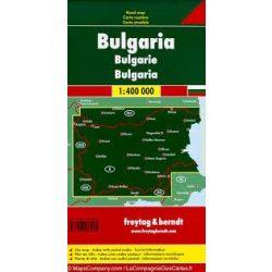 Bulgária térkép 1:400 000  Freytag AK 0902