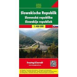 Szlovákia térkép Freytag & Berndt 1:400 000