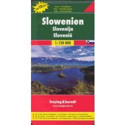 Szlovénia térkép Freytag & Berndt 1:150 000