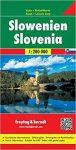 Szlovénia térkép Freytag & Berndt 1:200 000