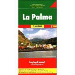 La Palma, 1:40 000  Freytag térkép AK 0518