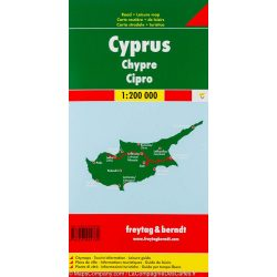 Ciprus, 1:200 000  Freytag térkép AK 3101