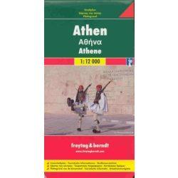 Athén térkép Freytag 1:12 000