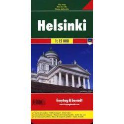 Helsinki térkép Freytag & Berndt 1:15 000