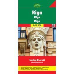 Riga térkép Freytag 1:10 000