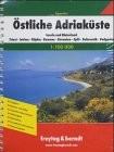 Adria atlasz Freytag 1:100 000  Hajózási atlasz vízmélységgel  2007