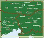 Karintia térkép - Észak-Adria, 1:200 000  Freytag  AK 716