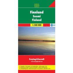 Finnország térkép, 1:500 000  Freytag AK 6401