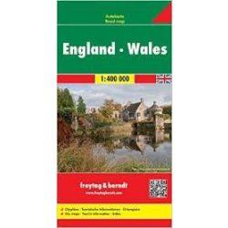 Anglia, Wales térkép 1:400 000 Freytag AK 0287