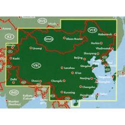 Kína - Mongólia térkép 1:4 000 000  Freytag térkép AK 127