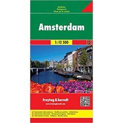 Amszterdam térkép Freytag 1:12,5e