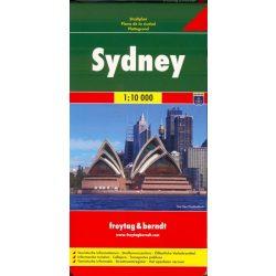 Sydney térkép Freytag & Berndt 1:10 000  2009