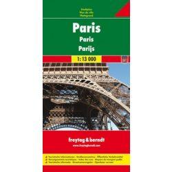 Párizs térkép Freytag 1:13 000