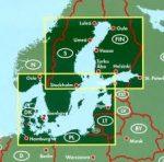 Balti-tenger országai, 1:800 000 Freytag térkép AK 2902