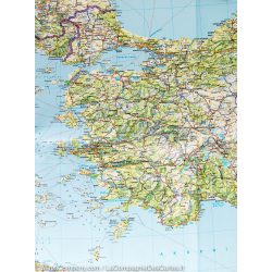 Balkán falitérkép Freytag 1:2 000 000 86 x 95 cm