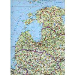 Kelet-Európa falitérkép Freytag 1:2 000 000