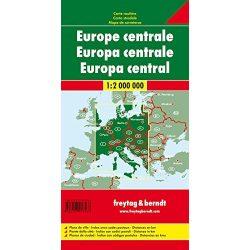Közép-Európa térkép  1:2 000 000  Freytag 2017