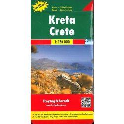 Kréta térkép Top 10 tipp, 1:150 000  Freytag AK 0830