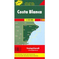 Costa Blanca, Top 10, 1:150 000  Freytag térkép AK 0521