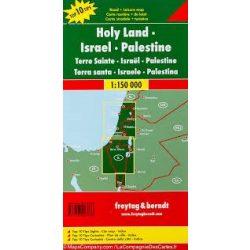 Izrael térkép - Palesztína - Sinai-félsziget, Top 10 tipp, 1:150 000  Freytag térkép AK 134