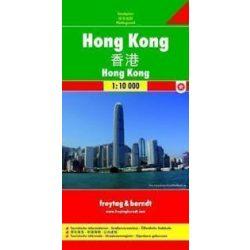 Hongkong térkép Freytag 1:10 000
