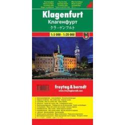 Klagenfurt térkép, Wörthersee térkép  Freytag & Berndt 1:5000